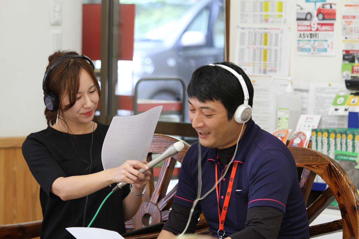 ラジオ出演 エフエム秋田 真坂はづき